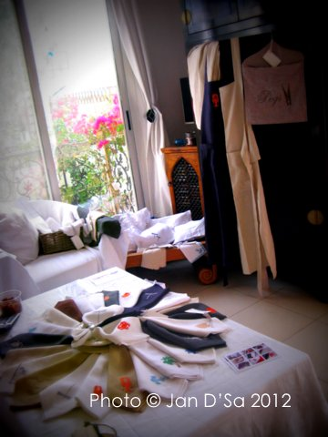 Linen Souk collection.