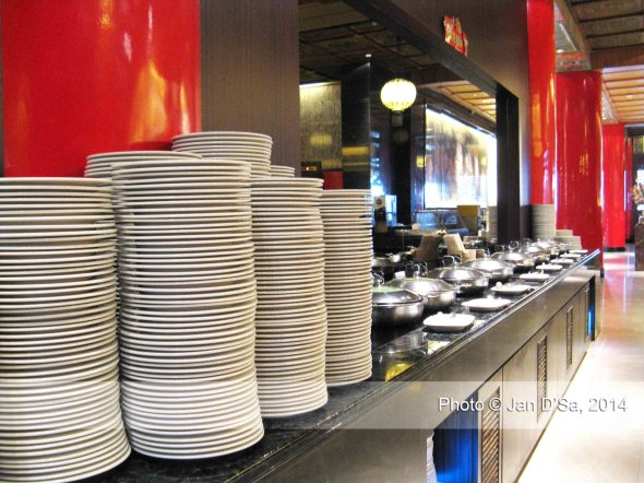 This is the Western style food counter.