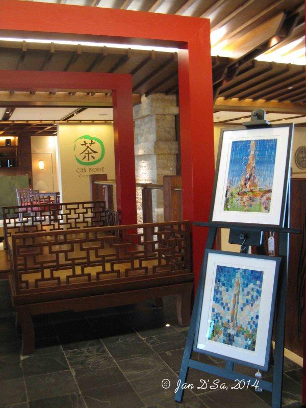 Olivia Boa artwork at Sofitel Dubai The Palm