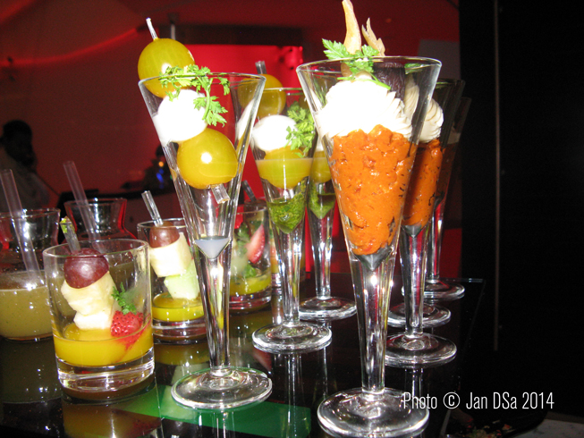 A snapshot of colourful appetizers awaiting us.