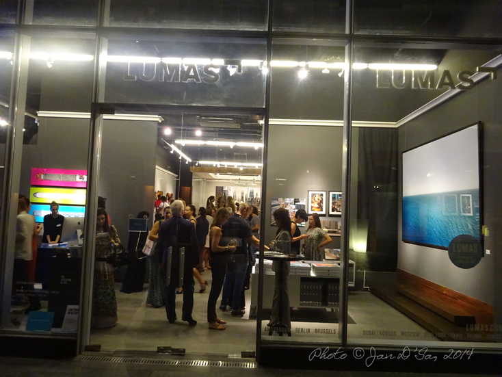 It was houseful at LUMAS, DIFC