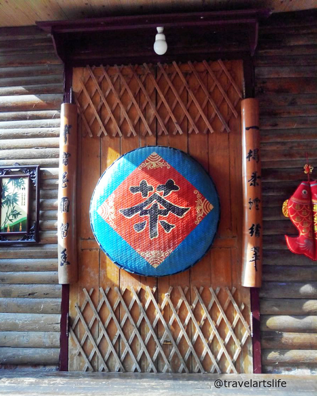 Imagine living or working from a space that had decor like this? At Meinong Hakka Cultural Village.