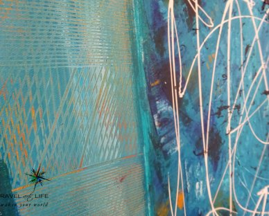Intuitive paintings by Rana Haj-Daoud.