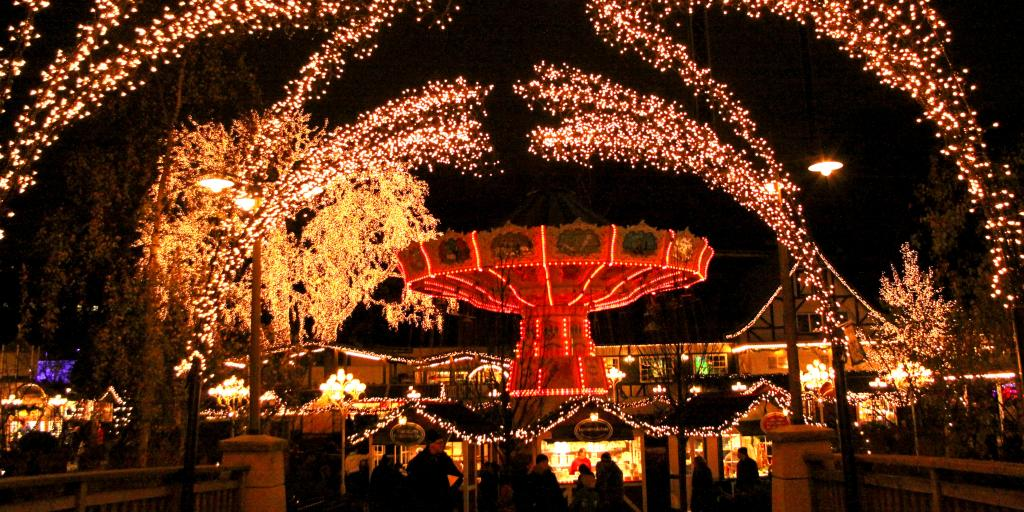 Scandinavian Christmas Market in Gothenberg, Sweden