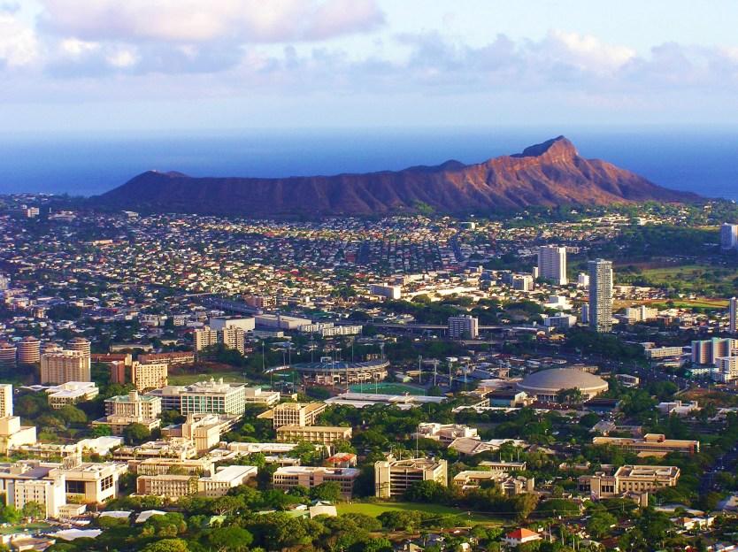 View of Honolulu, HI