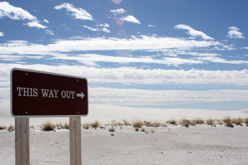 White Sands National Park in New Mexico