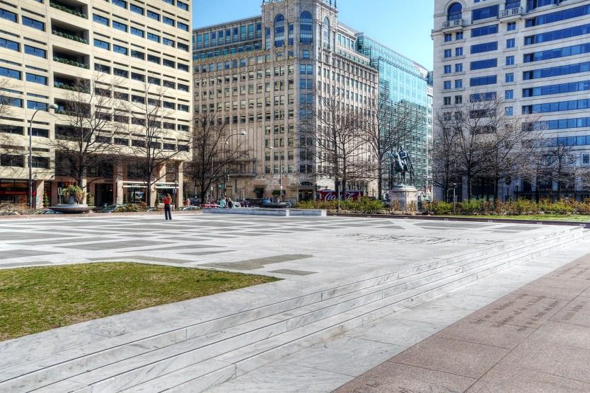Freedom Plaza, Washington DC.