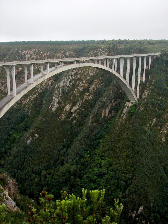 The Bloukrans Bridge.