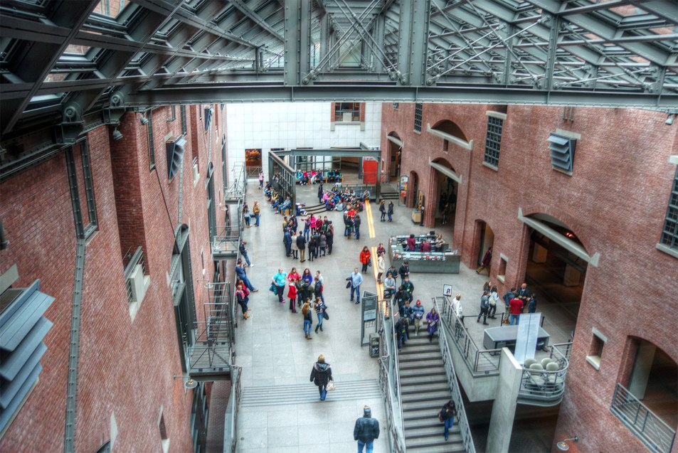 Main Floor, US Holocaust Memorial Museum
