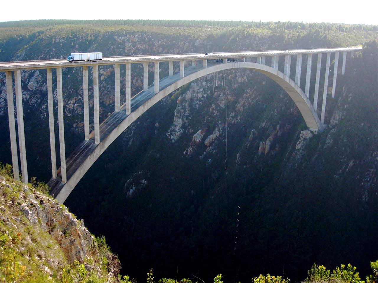 Bloukrans Bridge, South Africa.