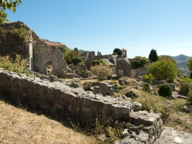 Ruiny twierdzy w Barze
