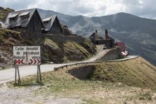 Południowa część trasy transfogaraskiej