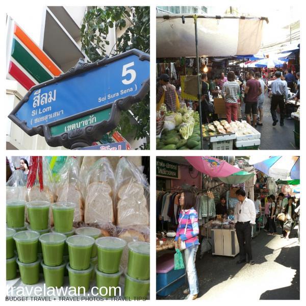 Salah satu street market di Bangkok yang jadi favorit saya adalah yang