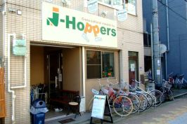 01.J-Hoppers hostel in Osaka
