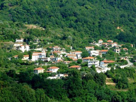 Metochi, localitatea din munte