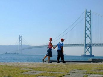 TravelBadgers @ Akashi Kaikyo