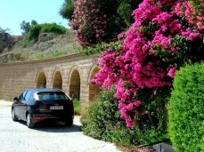 Cu maşina prin Aegina