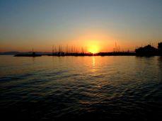 Asfinţit în Aegina