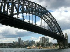 Harbour Bridge, vedere spre Chatswood
