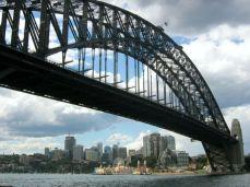 Harbour Bridge, vedere spre Chatswood