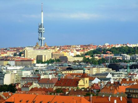 Žižkov Television Tower din Praga, Cehia