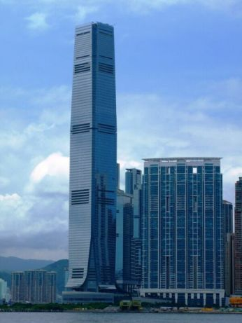 The International Commerce Centre, Hong Kong