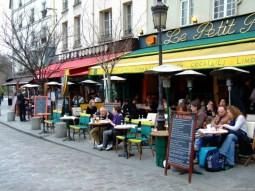 Cafenele parisiene