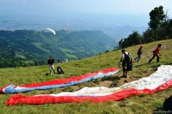 Paragliding în Pokhara