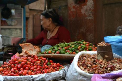 Ardeii iuţi sunt parte integrantă din gastronomia nepaleză.