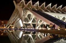 Am reflectat în Orașul Artelor și Științelor, Valencia