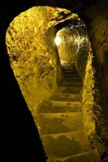 Derinkuyu, orașul subteran - Cappadocia