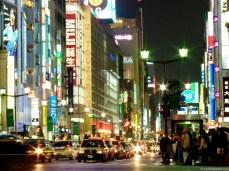 Ginza, celebrul bulevard