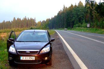Undeva prin Cehia, la graniţa cu Polonia, la un pipi-stop