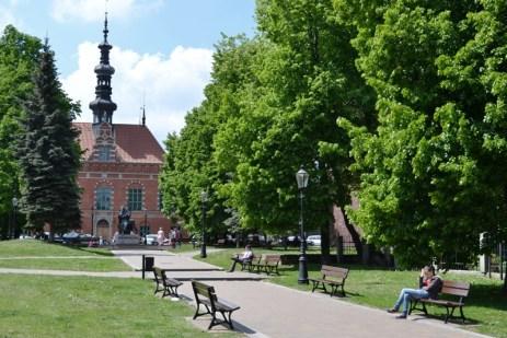 Gdańsk - Parcurile