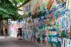 Praga - Zidul lui Lennon