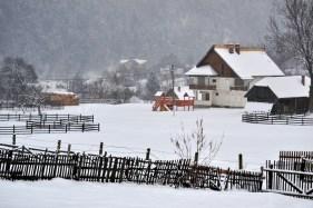 Iarna la Şimon