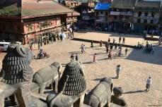 Bhaktapur - Piaţa Taumadhi