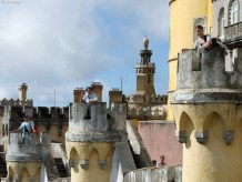 Palácio Nacional da Pena - la bastioane