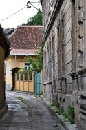 Pe o stradă din Braşov