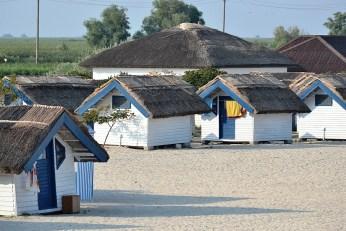 Căsuţele de pe plajă