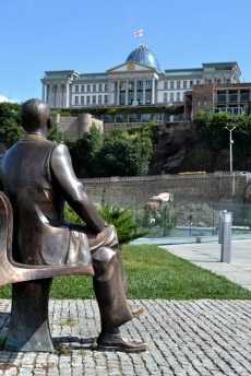 Reagan și palatul lui Saakashvili