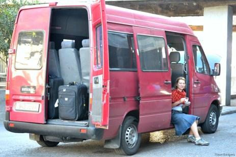 Autogara Ortachala din Tbilisi - plecăm spre Erevan