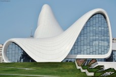 Baku, Azerbaijan - Centrul Cultural Heydar Alyiev