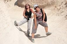 Cappadocia - La pas prin Rose Valley