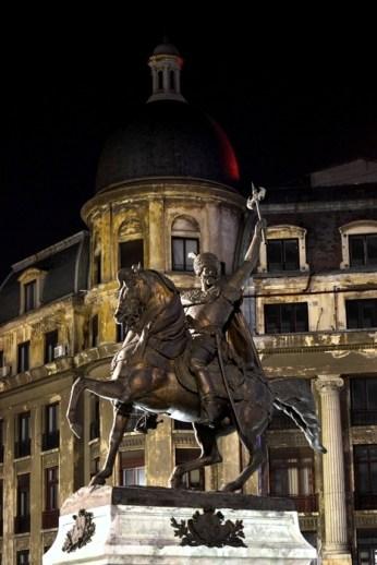 Statuia lui Mihai Viteazu de la Universitate