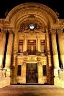 Intrarea în Palatul CEC