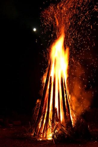 La final, foc de tabără