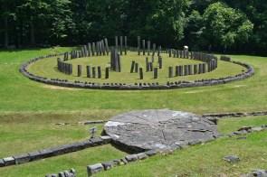 Sarmizegetusa Regia, Orăștie - Altarul de andezit și Templul mare circular