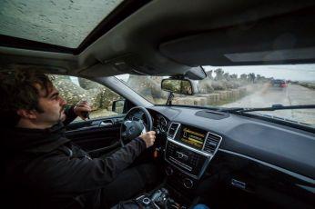 Offroad pe dig. Foto: Cătălin Georgescu