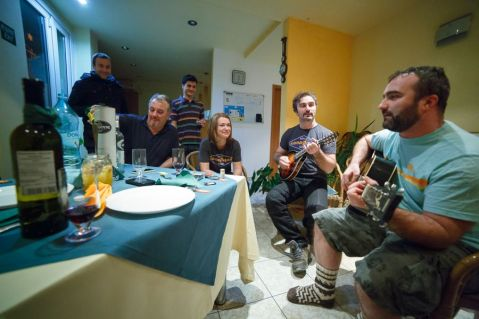 Seara de chitară. Foto: Cătălin Georgescu